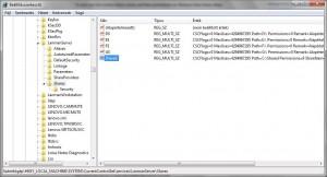 Windows registry megosztott mappák