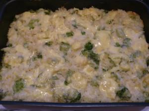 Fokhagymás-sajtos brokkolis tészta 1