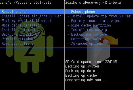 xrecovery-0.3-menu